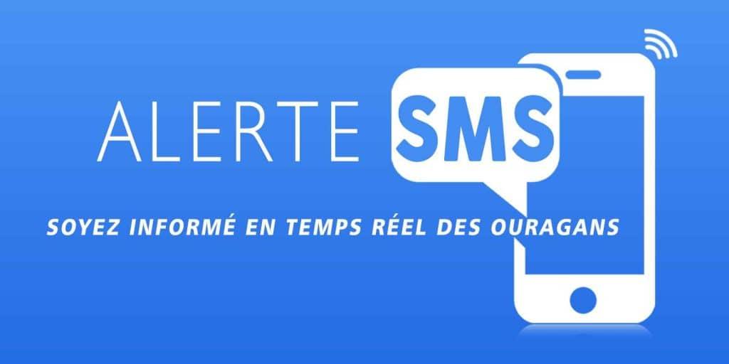 alerte sms aux ouragans