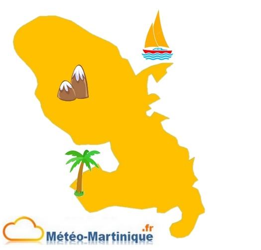 température de la mer en Martinique